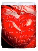 Decorated Romance Duvet Cover