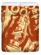 Decoratively Historic Duvet Cover