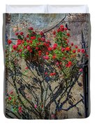 della Rocca Rose Duvet Cover