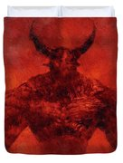 Demon Lord Duvet Cover