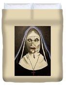 Demon Nun Duvet Cover