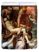 Deposition From The Cross Duvet Cover
