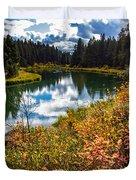 Deschutes River, Bend, Oregon Duvet Cover