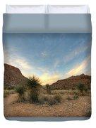 Desert Hike Duvet Cover