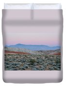 Desert On Fire No.2 Duvet Cover