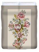Design For Sprays Of Flowers Duvet Cover