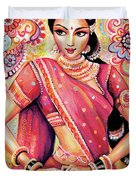 Devika Dance Duvet Cover