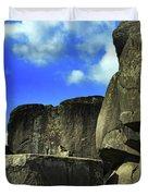 Devil's Den Rock Forms Duvet Cover
