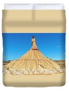 The Desert Of The Royal Bardenas Duvet Cover