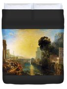 Dido Who Builds Carthage - Digital Remastered Edition Duvet Cover