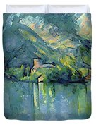 Lake Annecy - Digital Remastered Edition Duvet Cover
