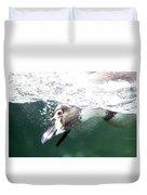 Dive Penguin Dive Duvet Cover
