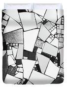 Divided Shapes Duvet Cover