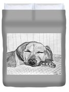 Django Napping Duvet Cover