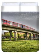 Docklands Light Railway Train  Duvet Cover
