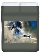 Dogfight Duvet Cover