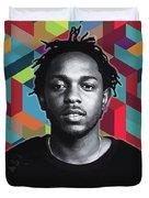 Don't Kill My Vibe Kendrick Duvet Cover