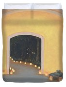 Doorway To The Festival Of Lights Duvet Cover