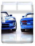 Double The Sting Duvet Cover