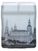 Dresden Cathedral- Dresden Duvet Cover