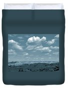 Drifting Clouds And Shifting Shadows Duvet Cover
