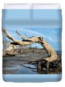 Driftwood Beach Duvet Cover