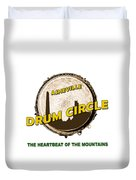 Drum Circle Logo Duvet Cover