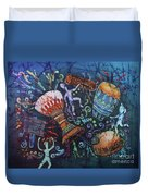 Drumbeat Duvet Cover