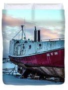 017 - Dry Dock Duvet Cover