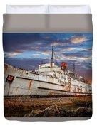 Duke Of Lancaster Ship Duvet Cover