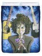 Dusky Resolution - Bob Dylan Duvet Cover