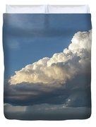 Dying Thunderstorms At Sunset 006 Duvet Cover
