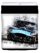 E-type Racing Duvet Cover