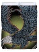 Eagle Illustration  Duvet Cover