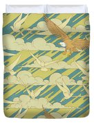 Eagles And Pigeons Duvet Cover