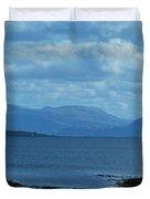 East Shores Of Isle Of Skye Duvet Cover