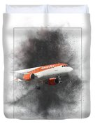 Easyjet Airbus A319-111 Painting Duvet Cover