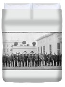 Edison Prize Winners At The White Duvet Cover