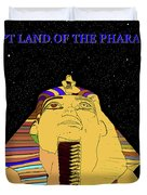 Egyptian Night Travel Poster A Duvet Cover
