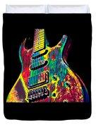 Electric Guitar Musician Player Metal Rock Music Lead Duvet Cover