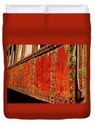 Elegant Rust Number 2 Duvet Cover