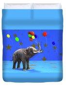 Elephant Celebration Duvet Cover