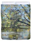 Ellicott Creek Park Duvet Cover