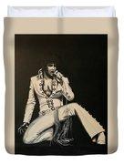 Elvis 1970 - Concho Suit Duvet Cover