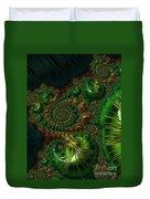 Emerald City. Duvet Cover