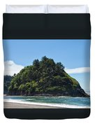 Emerald Isle Duvet Cover