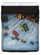 Empty Swings Duvet Cover