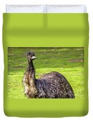 Emu Do Duvet Cover by Kate Brown