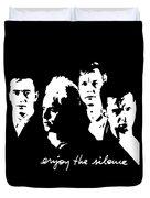 Enjoy The Silence Duvet Cover