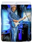 Eric Clapton Slowhand Duvet Cover